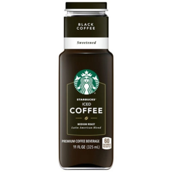 Starbucks Iced Sweetened Black Medium Roast Coffee