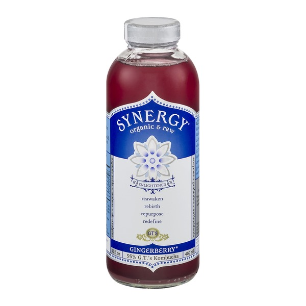 GT's Synergy Organic & Raw Gingerberry Kombucha