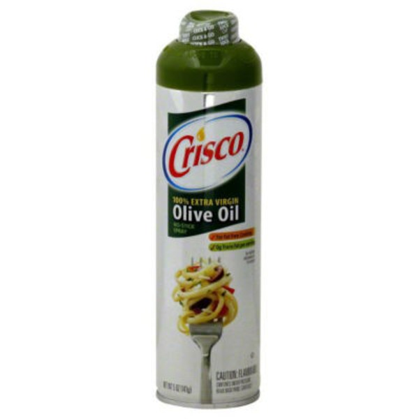 Crisco No-Stick Spray 100% Extra Virgin Olive Oil