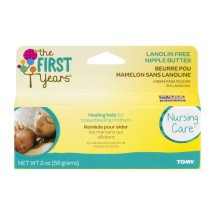 The First Years Lanolin-Free Nipple Soothing Cream