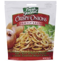 Fresh Gourmet Lightly Salted Crispy Onions, 3.5 oz
