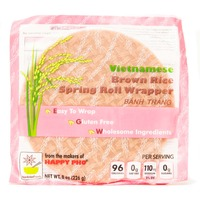 Star Anise Foods Vietnamese Brown Rice Spring Roll Wrappers
