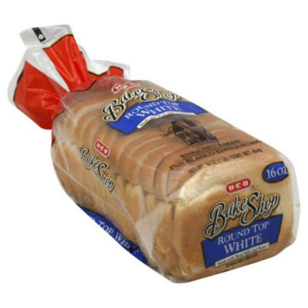 H-E-B Small Roundtop White Bread