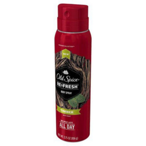 Old Spice Fresher Collection Timber Scent Men's Body Spray