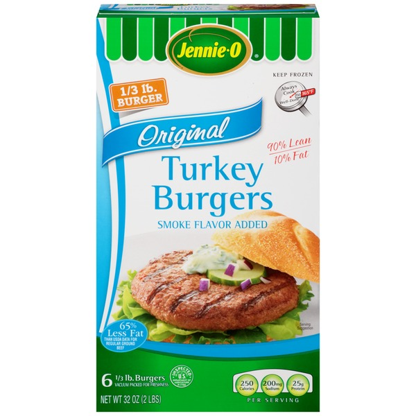 Jennie-O Original 1/3 lb Turkey Burger