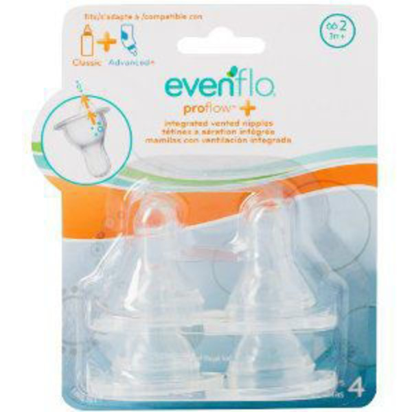 Evenflo Proflow Nipples Size 2