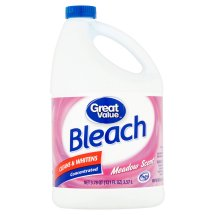 Great Value Bleach, Meadow Scent, 121 Ounces