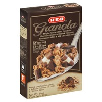 H.E.B Triple Chocolate Granola Whole Granola