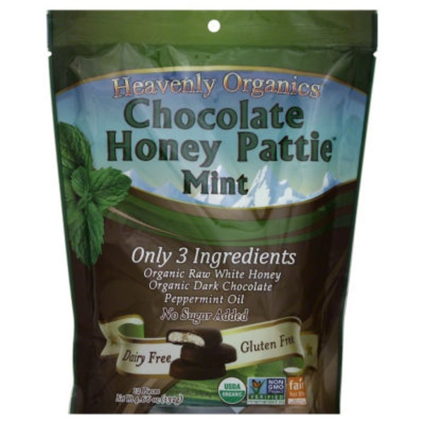 Heavenly Organics Chocolate Honey Pattie Mint