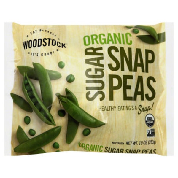 Woodstock Farms Organic Sugar Snap Peas