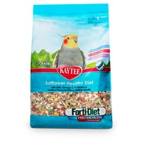 Kaytee Cockatiel Safflower Healthy Diet Forti Diet Pro Health