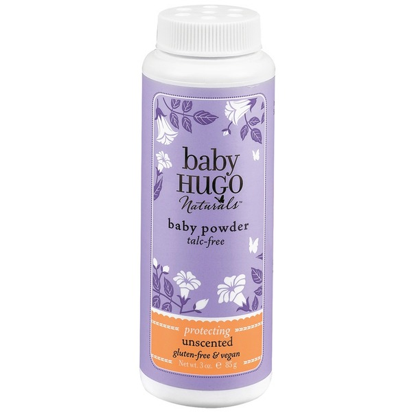 Baby Hugo Naturals Talc Free Baby Powder Unscented