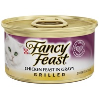 Fancy Feast Wet Grilled Chicken Feast in Gravy Cat Food
