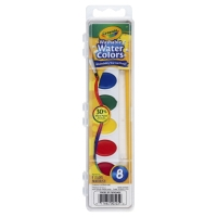Crayola Paint Watercolors Washable With Paint Brush
