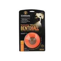 Starmark Everlasting Treat Bento Ball Dog Treats for Medium Dogs