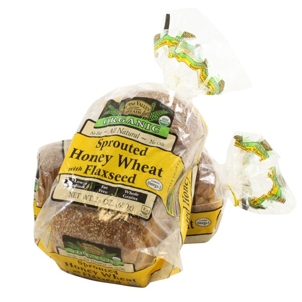 Alpine Valley Breads Organic Honey Sprout Bread