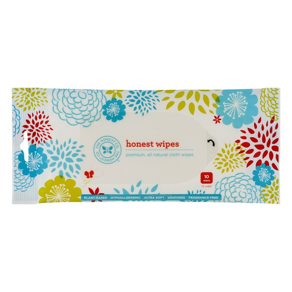 The Honest Company Honest Wipes Fragrance Free - 10CT