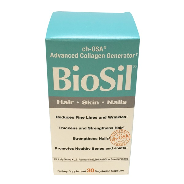 Biosil Hair, Skin, Nails, Vegetarian Capsules