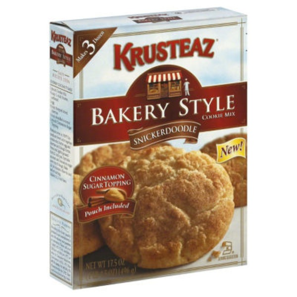 Krusteaz Snickerdoodle Bakery Style Cookie Mix