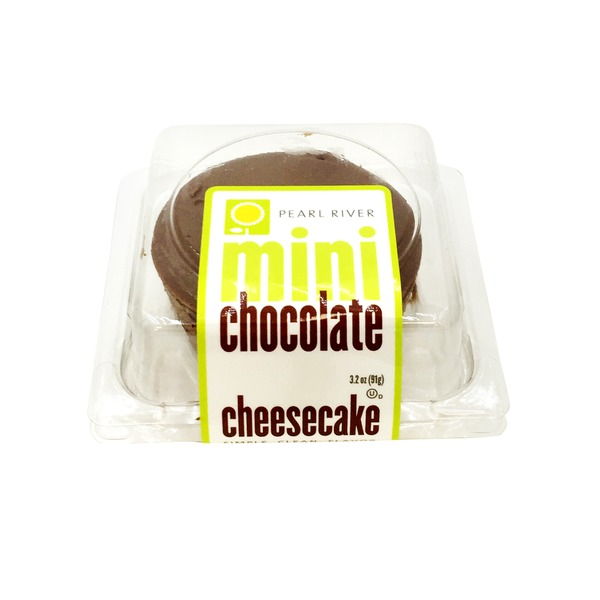 Pearl River Pastry Chocolate Swirl Cheesecake Mini Grab And Go