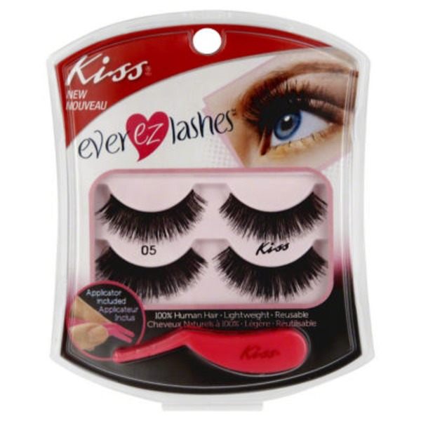 Kiss Ever EZ Lashes Double Pack 05