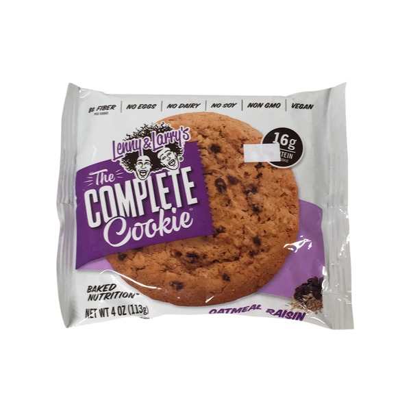 Lenny & Larry's Cookie, The Complete Cookie, Oatmeal Raisin