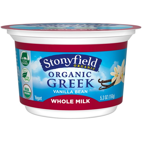 Organic Vanilla Bean Greek Yogurt