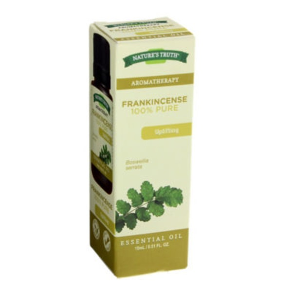 Nature's Truth Organic Aromatherapy Frankincense 100% Essential Oil