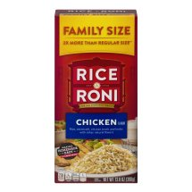 Rice A Roni Chicken Flavor Family Size, 13.8 OZ