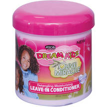 African Pride Dream Kids Olive Miracle Detangling Moisturizing Leave-In Conditioner