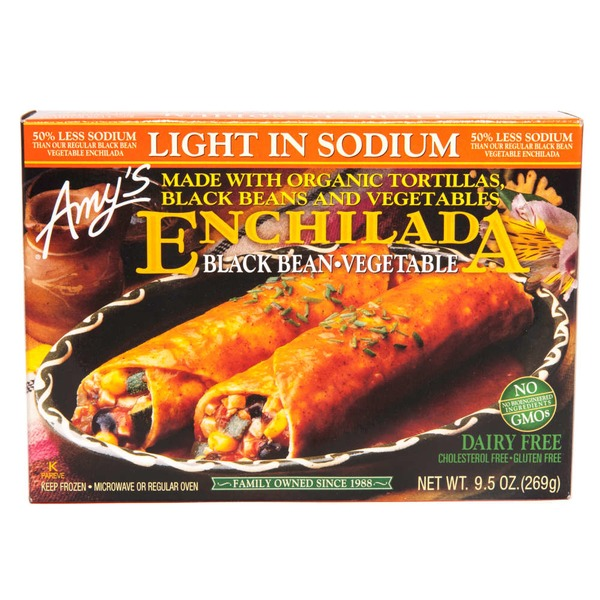Amy's Enchilada Black Bean-Vegetable