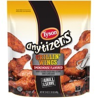 Any'tizers Smokehouse Flavored Grillin' Wings Chicken Wings