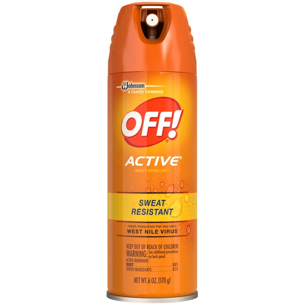 Off! Active Active Insect Repellent Insect Repellent