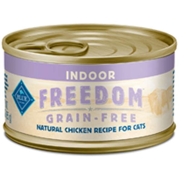 Blue Buffalo Indoor Freedom Grain Free Natural Chicken Recipe for Cats