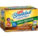Carnation Breakfast Essentials® Rich Milk Chocolate High Protein Complete Nutritional Drink 12-8 fl. oz. Bottles