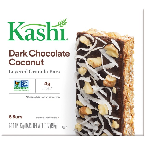 Kashi Layered Dark Chocolate Coconut Granola Bars