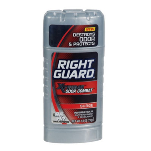 Right Guard Xtreme Odor Combat Surge Invisible Solid Antiperspirant