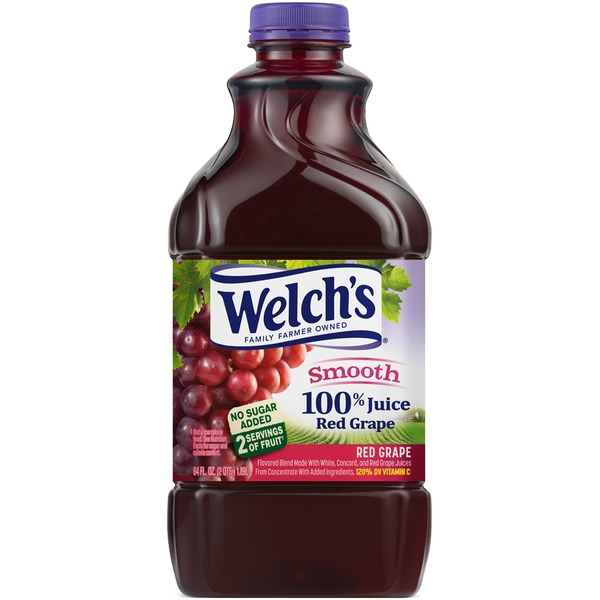 Welch's Red Grape 100% Juice