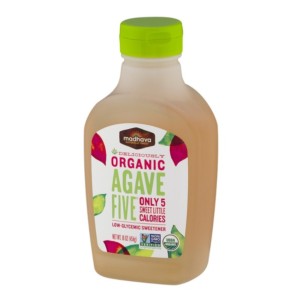 Madhava Organic Agave Five Low-Glycemic Sweetener