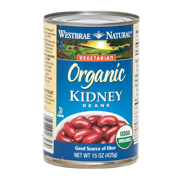Westbrae Natural Vegetarian Organic Kidney Beans Low Sodium