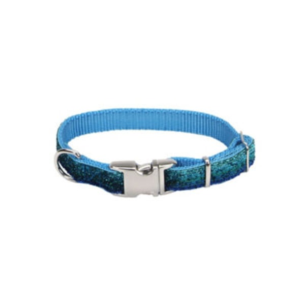 Coastal Pet Pet Attire Blue Sparkles 5/8 Inch X 8 12 Inch