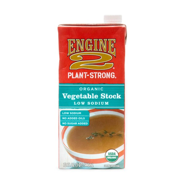 Engine 2 Organic Low Sodium Vegetable Stock
