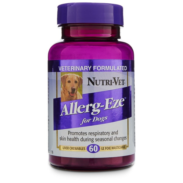 Nutri-Vet Allerg-Eze Dog Tablets
