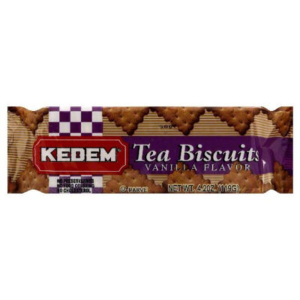 Kedem Tea Biscuits Vanilla