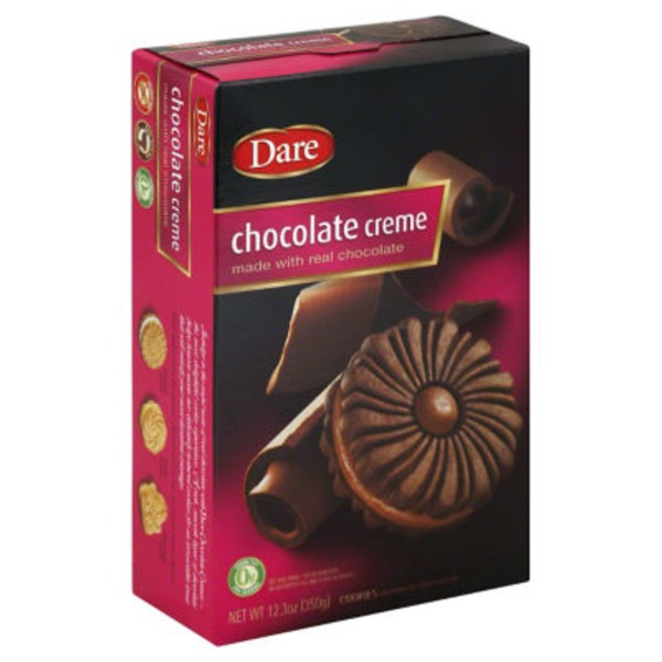 Dare Cookies Chocolate Creme