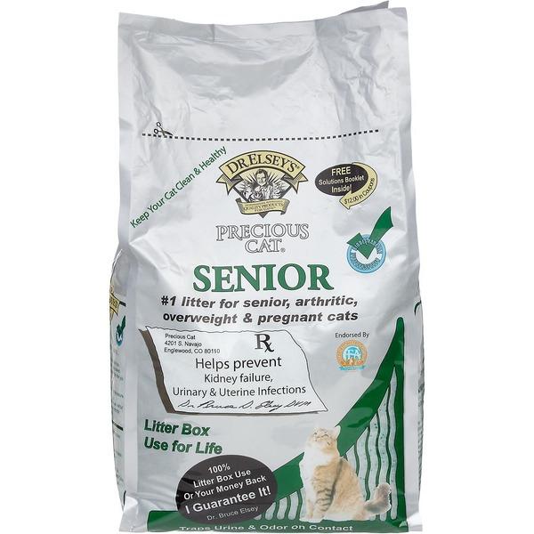 Precious Cat Dr. Elsey's Senior Cat Litter
