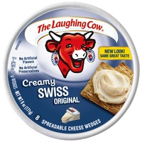 The Laughing Cow Creamy Swiss Original Wedges Cheese