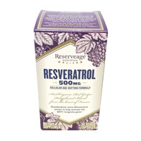 Reserveage Nutrition Resveratrol 500 mg Vegetarian Capsules
