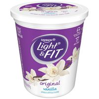 Light N' Fit Light + Fit Nonfat Gluten-Free Vanilla Yogurt