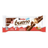 Kinder Bueno Hazelnut Chocolate Candy - 1.5oz